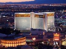 Het Casino Las Vegas van de luchtspiegeling Royalty-vrije Stock Foto