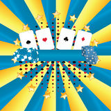 Het Casino van de banner Royalty-vrije Stock Afbeeldingen