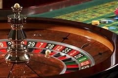Het casino van de roulette Stock Afbeelding