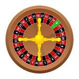 Het casino van de roulette Stock Afbeeldingen