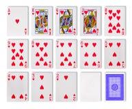 Het casino van de speelkaartenpook Royalty-vrije Stock Fotografie