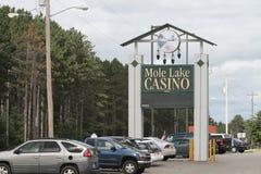 Het Casino van het molmeer in Crandon, Wisconsin royalty-vrije stock foto