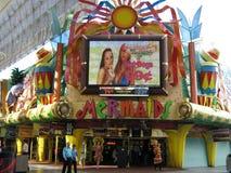 Het Casino van meerminnen op Straat Fremont Stock Foto's