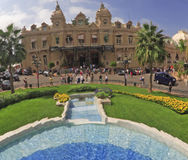 Het casino van Monaco Royalty-vrije Stock Afbeeldingen