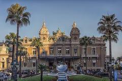 Het casino van Monte Carlo in dag stock foto's