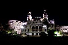 Het Casino van Monte Carlo in Monaco Stock Afbeeldingen