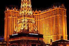 Het Casino van Parijs Las Vegas Stock Afbeeldingen