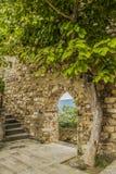 Het Castellet-dorp Stock Foto