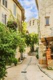 Het Castellet-dorp stock afbeeldingen