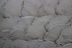 Het cementmuur van het krommepatroon voor achtergrond Stock Foto's