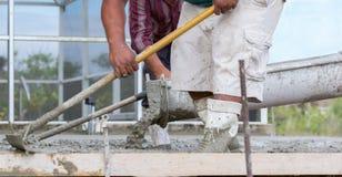 Het cementwerk Royalty-vrije Stock Foto's