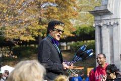 Het Central Park van de Viering van Halloween Royalty-vrije Stock Foto