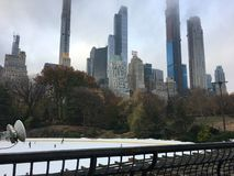 Het Central Park van New York stock fotografie