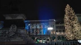 Het centrale paleis van Milaan Royalty-vrije Stock Foto