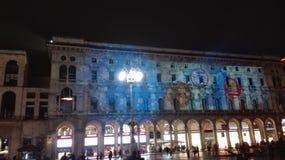 Het centrale paleis van Milaan Royalty-vrije Stock Fotografie