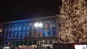 Het centrale paleis van Milaan Royalty-vrije Stock Foto's