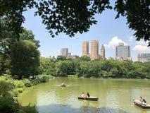 Het centrale park van Manhattan stock foto