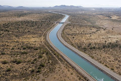 Het centrale Project van Arizona stock fotografie
