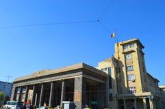 Het centrale station van Garade nord Boekarest royalty-vrije stock fotografie