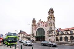 Het Centrale Station van Praag Royalty-vrije Stock Afbeelding