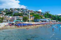 Het centrale strand Royalty-vrije Stock Afbeelding