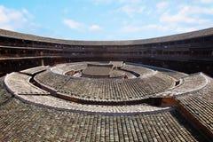 Het centrum dat van aarde Hakka 6 bouwt Stock Afbeeldingen