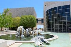 Het centrum Getty - Los Angeles Stock Afbeeldingen