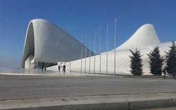 Het centrum naved Heydar Aliev Stock Foto's