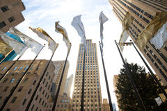 Het Centrum NYC van Rockefeller Stock Afbeeldingen