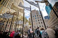 Het Centrum NYC van Rockefeller Stock Foto's