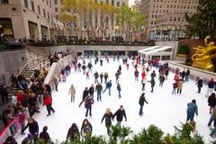 Het Centrum NYC van Rockefeller Royalty-vrije Stock Foto's