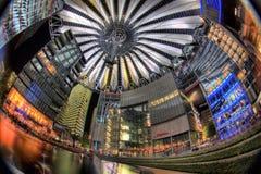 Het Centrum van Berlijn Sony Royalty-vrije Stock Afbeelding