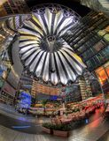 Het Centrum van Berlijn Sony Stock Afbeeldingen
