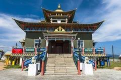 Het centrum van Boeddhisme in Rusland stock foto's