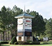 Het Centrum van de Choctawstad, de Mississippi royalty-vrije stock foto