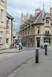 Het centrum van de Cirencesterstad Stock Afbeeldingen