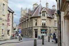Het centrum van de Cirencesterstad Stock Foto's