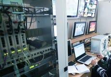 Het centrum van de controle Stock Fotografie