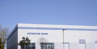 Het Centrum van de distributielevering royalty-vrije stock afbeeldingen