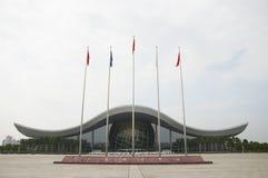 Het Centrum van de Guangzhouwetenschap Stock Afbeeldingen