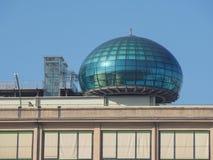 Het centrum van de Lingottoconferentie in Turijn Royalty-vrije Stock Foto's