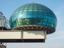Het centrum van de Lingottoconferentie in Turijn Royalty-vrije Stock Afbeeldingen