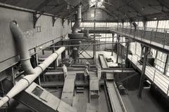 Het Centrum van de mijnbouwgeschiedenis van Lewarde stock fotografie