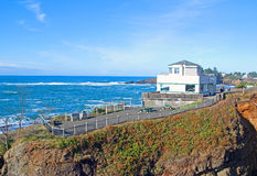 Het Centrum van de Observatie van de walvis Stock Afbeeldingen