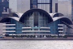 Het Centrum van de Overeenkomst en van de Tentoonstelling van Hongkong Royalty-vrije Stock Afbeeldingen