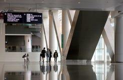 Het Centrum van de Overeenkomst en van de Tentoonstelling van Hongkong Stock Afbeelding