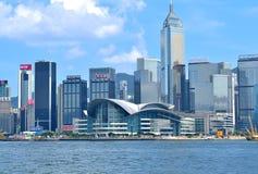 Het Centrum van de Overeenkomst en van de Tentoonstelling van Hongkong Stock Afbeeldingen