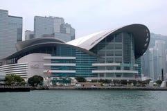 Het Centrum van de Overeenkomst en van de Tentoonstelling van Hongkong Stock Foto