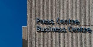 Het Centrum van de pers Royalty-vrije Stock Afbeelding