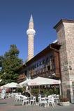 Het centrum van de Plovdivstad, Bulgarije royalty-vrije stock afbeelding